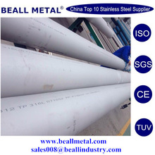 stainless steel seamless pipes, material 1.4581, according to EN10312,with SGS report