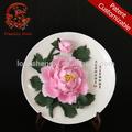 wandbehang miniatur keramik blumen