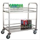 hotel and restaurant tea cart trolley