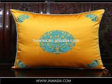 best seller new design white cotton knit pillow case
