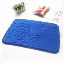2012 soft memory foam mats / bamboo anti-slip mat A/Memory foam bath mat_ Qinyi