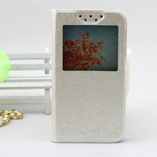 made in China, window holster leather case with receiver for hisense andromax c2