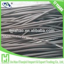 SAE100 R16 High Pressure rubber pipe / Hydraulic Flexible hose pipe
