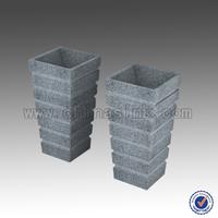 G603 Granite Pedestal Sink, Cheap bathroom sink made in china