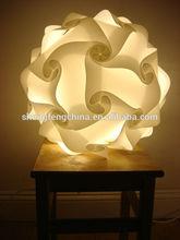 factory wholesale smart jigsaw lampshade