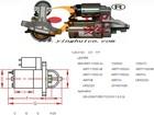 206-2008 FORD FOCUS II 1.8 2.0L 1.2KW/12V CW 11T OEM:4M5T-11000-AA starter assembly