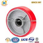 8-inch Polyurethane (PU) on Cast Iron core Wheel