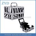Zyd de aluminio caja de la belleza, hacer- up caso, caso cosmético, joyería de viaje en tren, zyd-hzmmc009