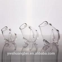 Fish Shaped Glass Fish Bowl,Aquarium Clear Fish Tank,Decorative Glass Fish Bowls