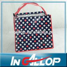 fashion shopping tote pp woven bag manufacturer