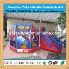 Hot Sale Inflatable Spiderman Bouncer Slide