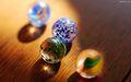 Juguete boladecristal, ronda de bolas de cristal,