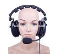 Sconto del 20%!!! He-102 auricolari doppio citofono cuffia microfono electret