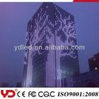 YD curtain led building facade wall