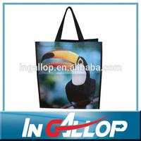 wholesale pp woven laminated shopping bag school bag