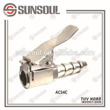 Straight Clip-on air chuck/tyre repair tool/clip pneumatic tool