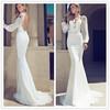 New Arrival 2014 Luxury Julie Vino Sexy cheap long sleeve lace wedding dresses WED-0133 Long Sleeve Alibaba wedding dress