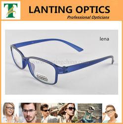 Italy designer branded eyeglasses sports memory optical frame tr90