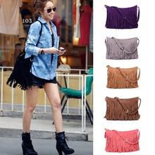 New 2014 Fashion Fringe Tassel cross body bag Women's Handbags, Messenger Bag Lady Cross Body Shoulder Bag H10989
