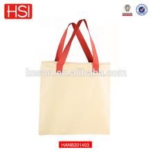 "100% Cotton Canvas Tote Bag 17""x 17"" w/ Zip Top Eco-Friendly"