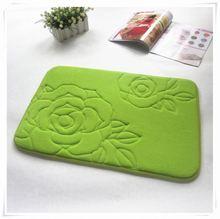 2013 hot sale new style for cat cutting mat/Memory foam bath mat_ Qinyi