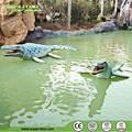 parque de atracciones de atracción de los dinosaurios