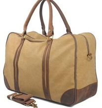 Simple high capacity duffel bag best quality canvas duffle bag