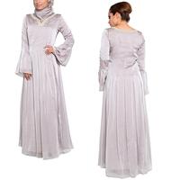 alibaba OEM china supplier abaya latest design muslim long sleeve kaftan dress