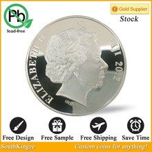 Canada fiji 2012 coins Silver plated coins arts and craft coins