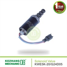 KWE5K-20 / G24D05 12v/24v pilot operated safety valves KZ brand high quality rotary solenoid valve HD820 pilot valves
