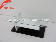 Top glass high glossy MDF modern coffee table/touch screen coffee table