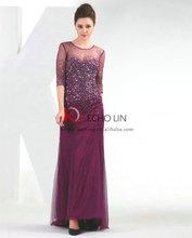 Middle east fashion design wedding dress wholesale chiffon maxi dress