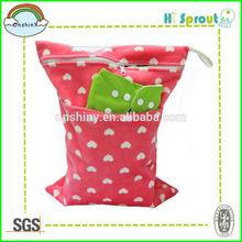 Molti nuovi modelli borse per pannolini stoffa wet/dry borsa