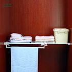 bathroom shelf with towel bar NTL-60