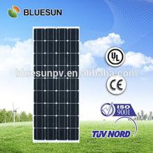 Bluesun cheap solar energy 25 years warranty 12v 90w solar panel ul