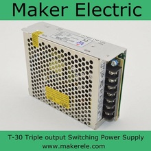triple output ac/dc power supply T-30A