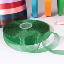 Factory custom organza ribbon 1.5 inch for decoration