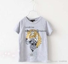 Wholesale Customize Short Sleeve Printed Tee China Manufacture Cotton/Polyester Children T shirts