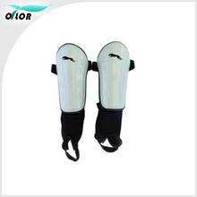 Elastic custom design football shin pad with elastic strap