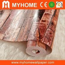 L91302 PVC stone 3D wallcovering exterior wallpaper