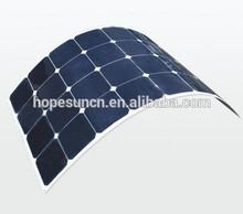 75W High Efficiency Semi Flexible Solar Panel Price