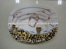 Plastic serving tray/plastic serving plate
