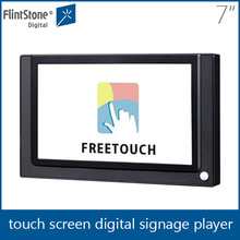 flintstone 7inch promotional China cheap price, ir motion sensor activated digital signs