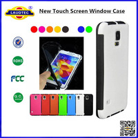 New Touch Screen Window case for Samsung Galaxy S5, Screen Protector With Back Case for Galaxy S5-Laudtec