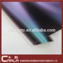 Car carbon chameleon car paint protect film newest vinyl wrap