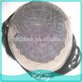 2014 novos produtos, brasileira peruca cheia do laço, laço francês, swiss lace postiços para o homem preto
