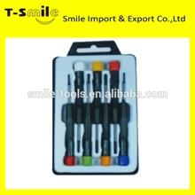 Promotional pocket tool professional cr-v precision screwdriver set