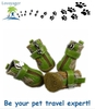 Lovoyager pet products PU dog boots