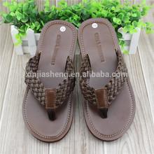 2014 summer leather sandal shoes for men