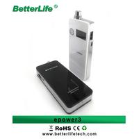 Betterlife new products 2014 3400mah VV VW mod 4G flash memory epower 3 china wholesale